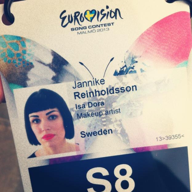 Jannike Reinholdsson IsaDora ESC 2013